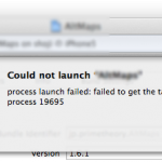 """""""Cloud not launch """"アプリ名"""" process launch failed:  failed to get task for process プロセス番号"""" のエラーで実機に転送できないケース"""