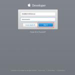 Appleの開発者ライセンスが統合されたあとにはじめてデベロッパーサイトにログインする場合