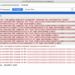 Unable to determine concrete GCC compiler for file *********